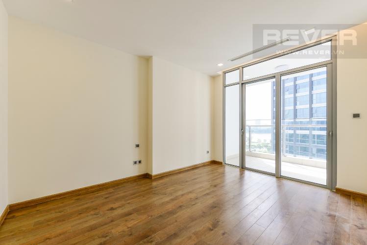 Phòng ngủ 1 Căn hộ Vinhomes Central Park 3 phòng ngủ tầng thấp P2 view sông