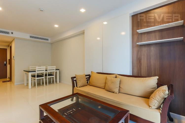 Phòng Khách Cho thuê căn hộ 607B Rivera Park Sài Gòn 2PN, nội thất đầy đủ, view hồ bơi