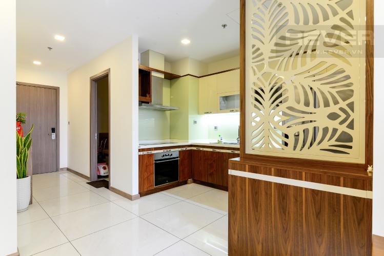Nhà Bếp Cho thuê căn hộ Vinhomes Central Park 3PN, tháp Park 7, đầy đủ nội thất, view hồ bơi