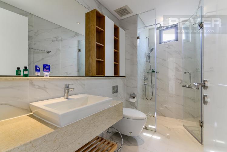 Phòng Tắm 2 Cho thuê căn hộ Diamond Island - Đảo Kim Cương 3PN, tầng cao, đầy đủ nội thất, view sông yên tĩnh