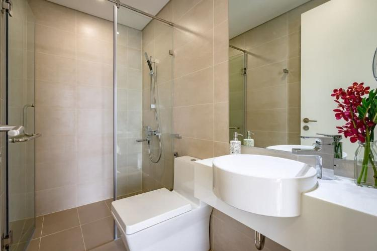 Phòng tắm Masteri Millennium Quận 4 Căn hộ tầng trung Masteri Millennium, view Quận 1.