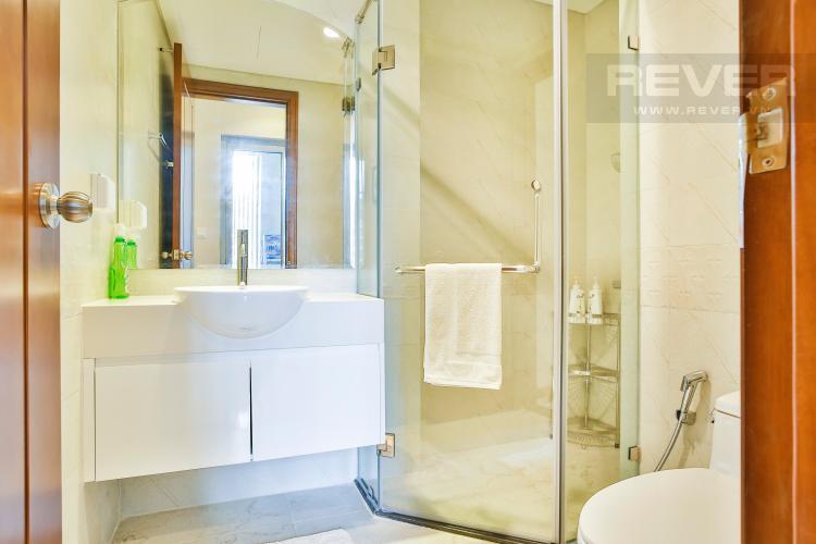 Phòng tắm 1 Căn hộ Vinhomes Central Park tầng cao hướng Đông Bắc tháp Central 3