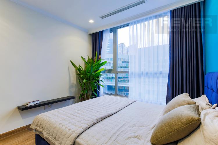 Phòng Ngủ 2 Căn hộ Vinhomes Central Park tầng thấp Landmark 3 thiết kế hiện đại, trẻ trung