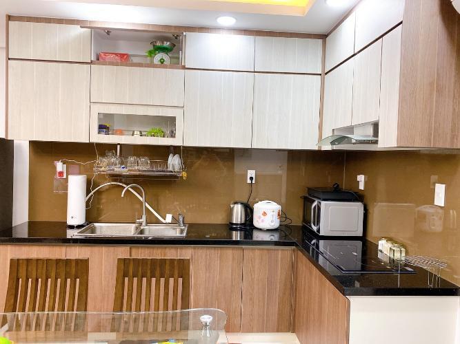 Bếp  Saigon South Residence Căn hộ Saigon South Residence tầng cao, đầy đủ nội thất, view nội khu.