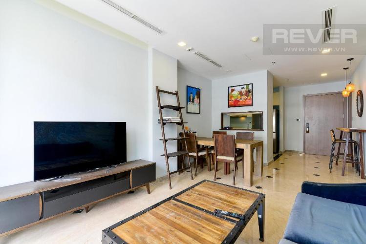 Cho thuê căn hộ Vinhomes Central Park 2PN, tháp Park 5, đầy đủ nội thất, view sông thoáng mát