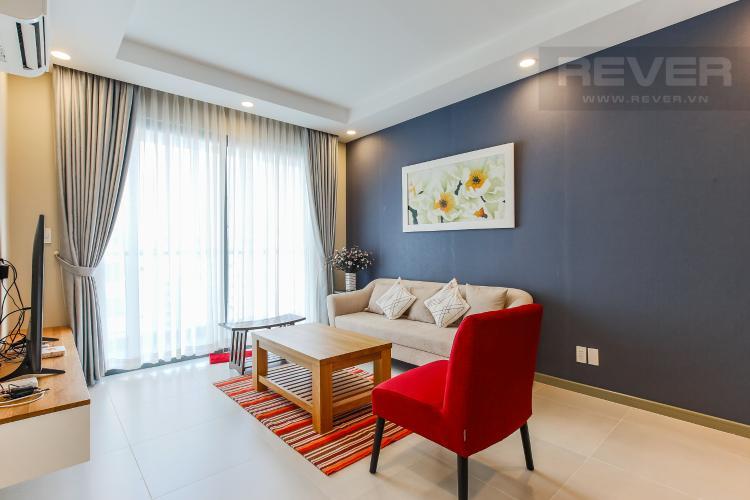 Phòng Khách Căn hộ The Gold View 2 phòng ngủ tầng trung A2 đầy đủ nội thất