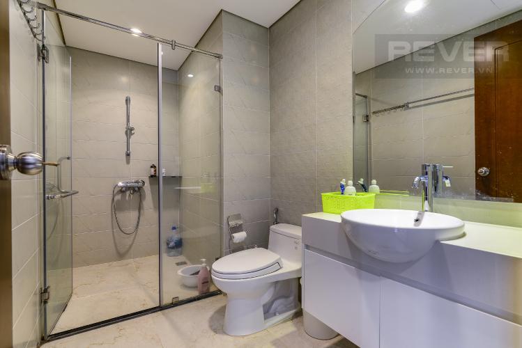 Phòng Tắm Bán và cho thuê căn hộ Vinhomes Central Park tầng trung, 1PN, đầy đủ nội thất