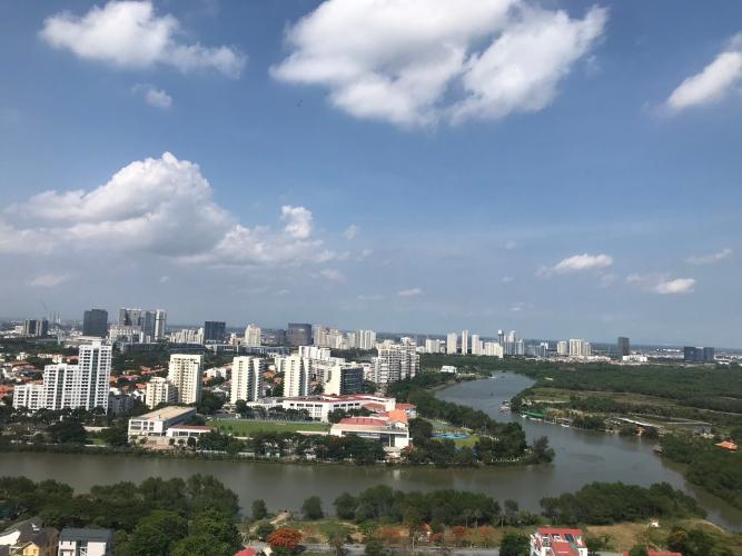 View căn hộ Saigon South Residence Bán căn hộ Saigon South Residence tầng trung, 3 phòng ngủ, diện tích 104m2, đầy đủ nội thất.