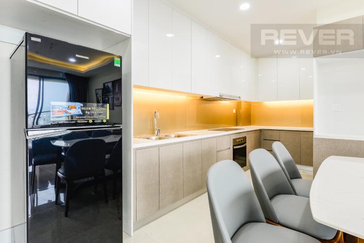 Bếp Cho thuê căn hộ Masteri Millennium 3PN rộng rãi, đầy đủ nội thất