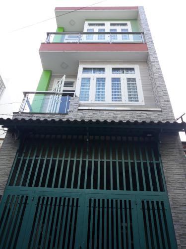 Nhà phố thiết kế vuông vức, diện tích 64m2, bàn giao sổ hồng riêng.