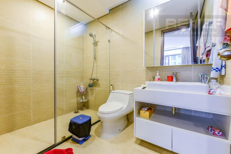 Phòng tắm 1 Căn hộ Vinhomes Central Park tầng trung tòa park 3 full nội thất