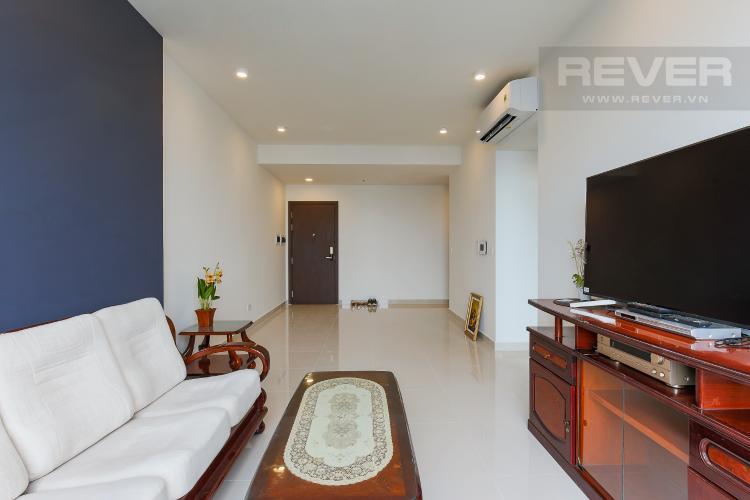 Phòng Khách Cho thuê căn hộ The Tresor tầng cao, 3PN, view sông Sài Gòn