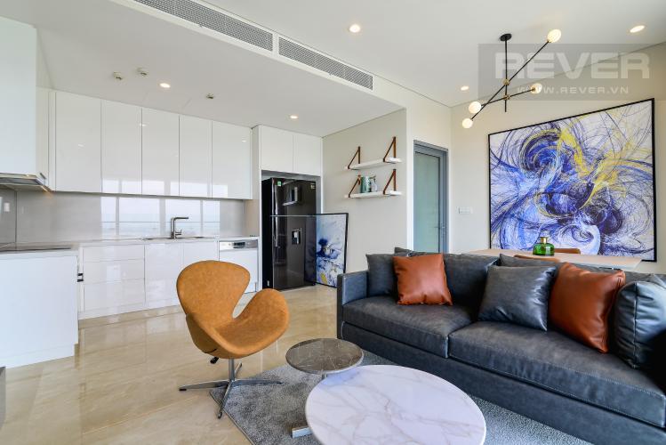 Phòng Khách 2 Cho thuê căn hộ Diamond Island - Đảo Kim Cương 3PN, tầng cao, đầy đủ nội thất, view sông yên tĩnh