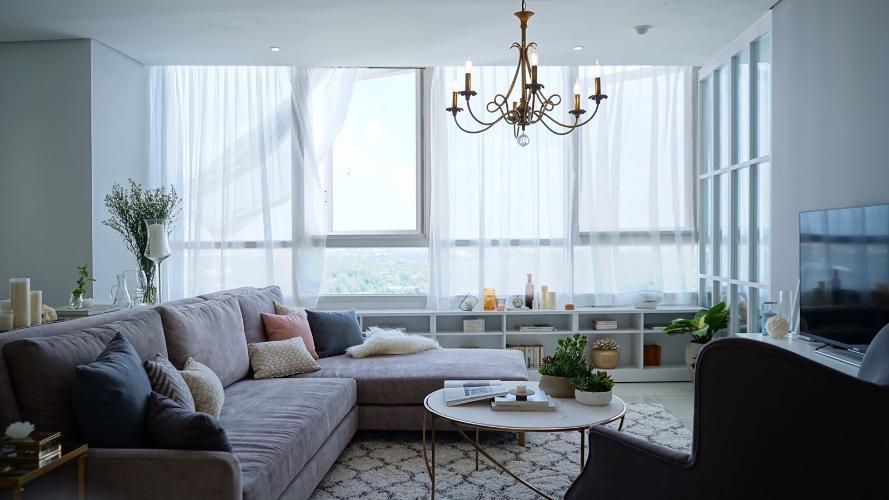 Bán căn hộ view sông Sài Gòn Xi Riverside Place, nội thất đầy đủ