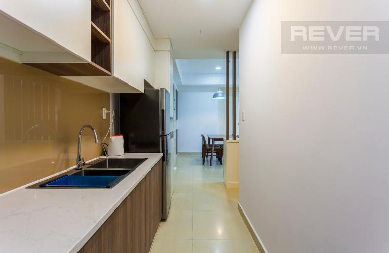 Nhà bếp Căn hộ Masteri Thảo Điền trung tầng T2 thiết kế đẹp, đầy đủ tiện nghi