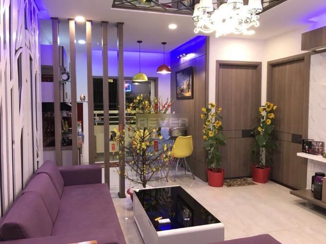 Phòng khách căn hộ Tecco Green Nest, Quận 12 Căn hộ Tecco Green Nest tầng trung, đầy đủ nội thất cao cấp tiện nghi.