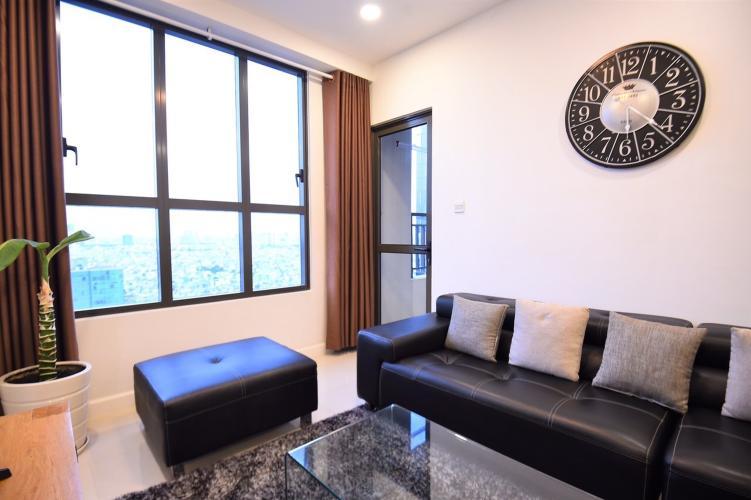 Phòng khách Icon 56, Quận 4 Căn hộ Icon 56 tầng cao. đón view thành phố sầm uất.