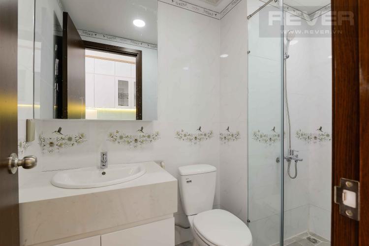 Toilet Cho thuê căn hộ officetel The Sun Avenue thuộc tầng thấp, block 4, đầy đủ nội thất
