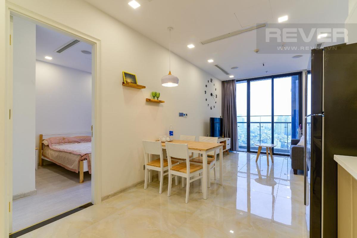3bfff3b09b347d6a2425 Bán căn hộ Vinhomes Golden River 1 phòng ngủ, tháp The Aqua 2, đầy đủ nội thất, view Landmark 81