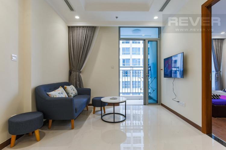 Phòng Khách Officetel Vinhomes Central Park 1 phòng ngủ tầng cao Landmark 5