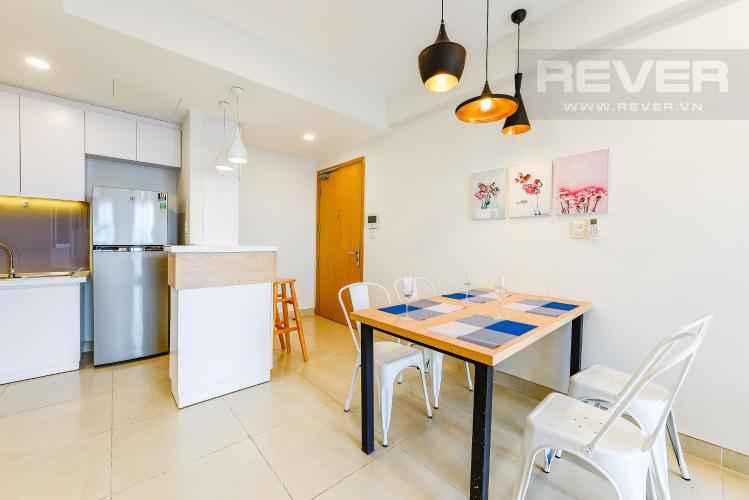 Bàn ăn Cho thuê căn hộ Masteri Thảo Điền tầng cao, 2PN đầy đủ nội thất