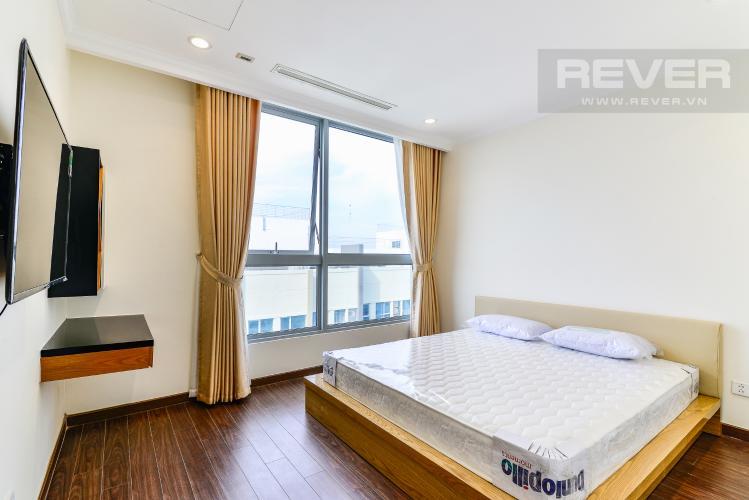 Phòng Ngủ 1 Căn hộ Vinhomes Central Park  3 phòng ngủ tòa Landmark 4 tầng cao