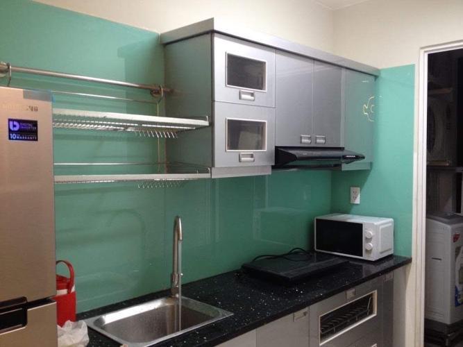 Phòng bếp Lexington Residence Quận 2 Căn hộ Lexington Residence tầng cao, hướng Đông Nam.