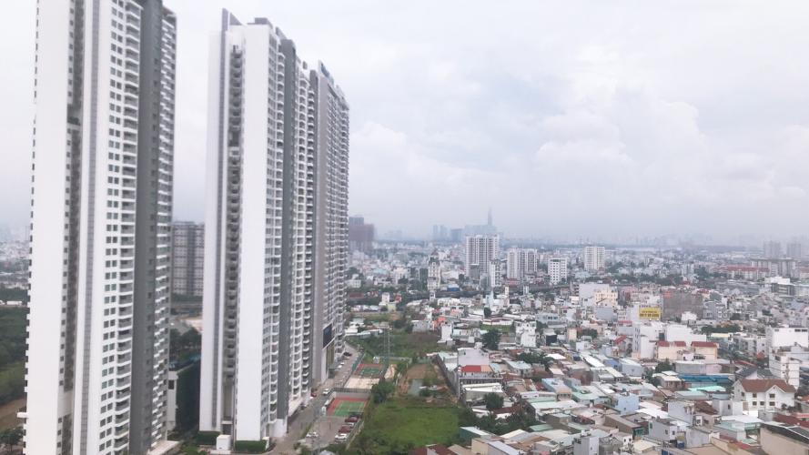 View căn hộ Sunshine City Saigon Office-tel Sunshine City Sài Gòn tầng cao, view Phú Mỹ Hưng, Q1.