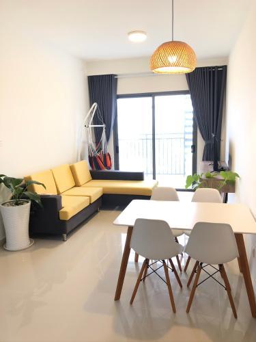nội thất căn hộ 2+1 phòng ngủ the sun avenue Căn hộ The Sun Avenue tầng trung, kèm nội thất đầy đủ.