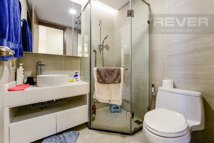 Phòng tắm 2 Căn hộ Vinhomes Central Park 2PN nội thất đầy đủ, có thể dọn vào ở ngay