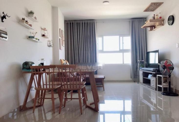 Phòng khách An Phú Đông, Quận 12 Căn hộ An Phú Đông tầng trung, view sông và Landmark 81.