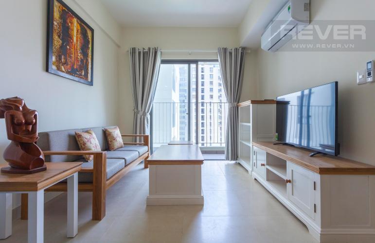 Phòng Khách Căn hộ Masteri Thảo Điền 2 phòng ngủ tầng cao T1 đầy đủ nội thất