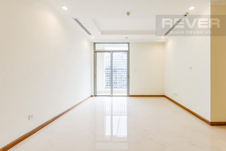 Phòng khách Căn hộ Vinhomes Central Park 2 phòng ngủ tầng cao C3 nhà trống