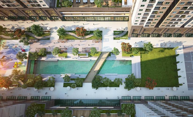 image Bán căn hộ Q7 Saigon Riverside, 1 phòng ngủ, diện tích 53.2m2, chưa bàn giao