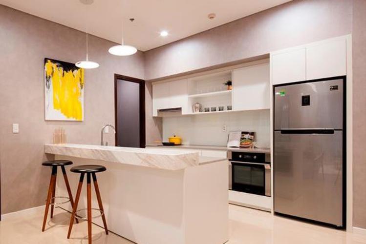 Phòng bếp One Verandah Quận 2 Căn hộ One Verandah đầy đủ nội thất, view sông và thành phố.