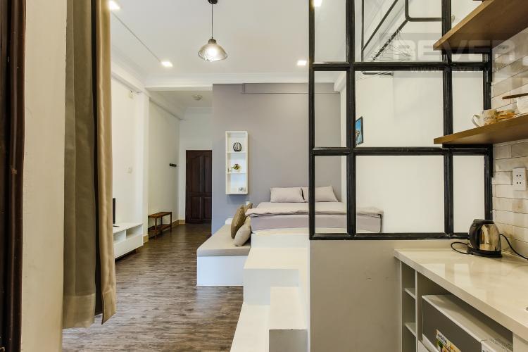 Phòng Bếp Căn hộ dịch vụ 1 phòng ngủ Đường Mai Thị Lựu diện tích 36m2