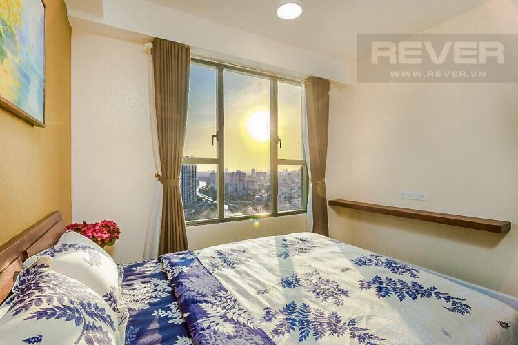 Phòng Ngủ 1 Bán căn hộ The Tresor 114m2 3PN 2WC, đầy đủ nội thất, view sông