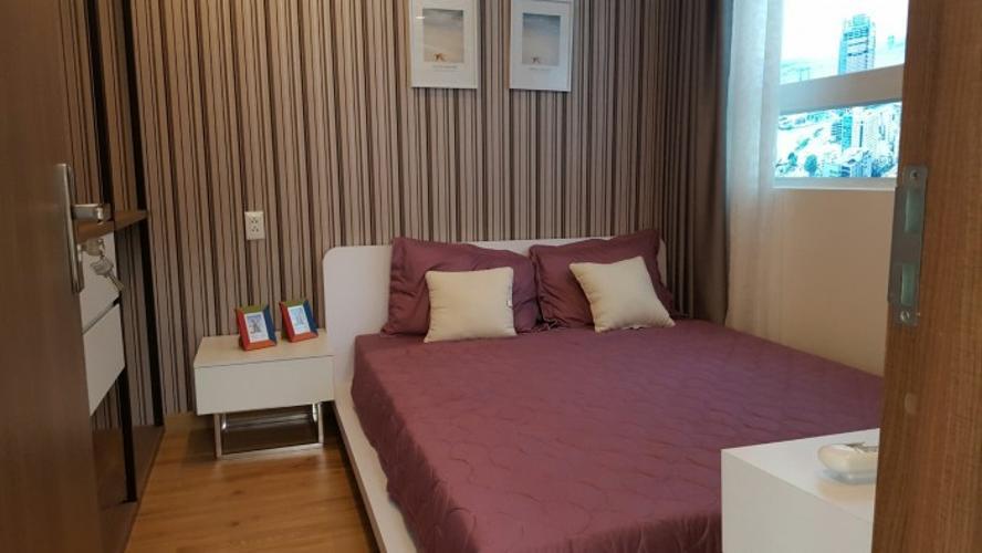 Nhà mẫu Căn hộ CT Plaza Nguyên Hồng, Gò Vấp Căn hộ CT Plaza Nguyên Hồng tầng cao 2 phòng ngủ.