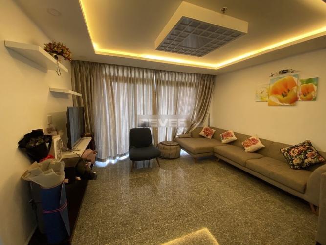 Căn hộ Dragon Hill Residence And Suites tầng thấp, view thành phố.