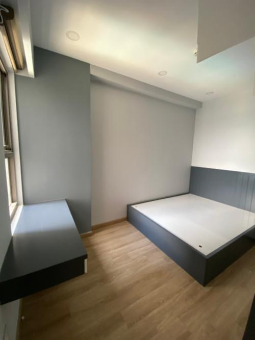 Phòng ngủ căn hộ Saigon South Residence Căn hộ Saigon South Residence tầng cao, đầy đủ nội thất