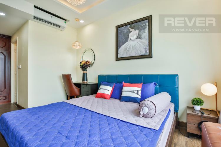 Phòng Ngủ 2 Căn hộ Vista Verde tầng trung tòa T2 nội thất đẹp nhà mới