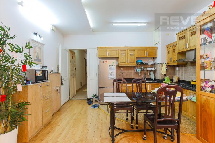 Phòng Bếp Chung Cư Khánh Hội hướng Đông Nam, 2 phòng ngủ nội thất đầy đủ
