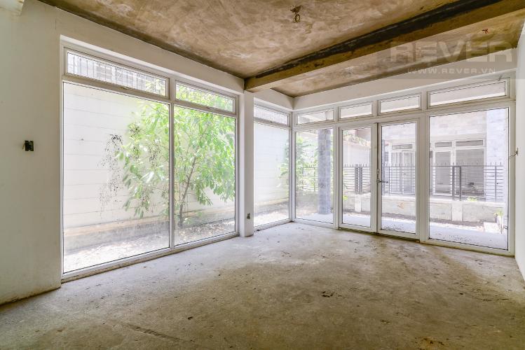 Mặt Bằng Tầng Trệt Biệt thự 3 phòng ngủ đường Nguyễn Hữu Thọ Nhà Bè