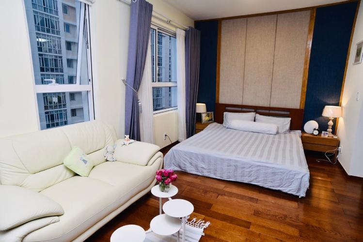 Phòng ngủ Lexington Residence Quận 2 Căn hộ Lexington Residence tầng trung, ban công hướng Tây.