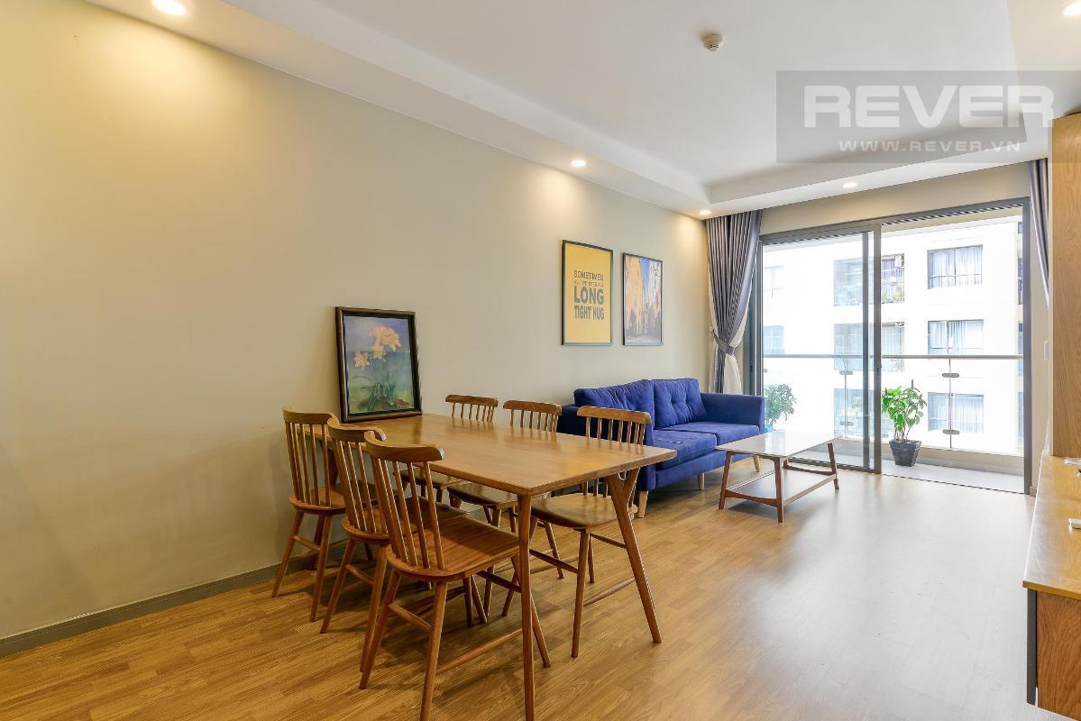 6.1 Bán hoặc cho thuê căn hộ The Gold View 2PN, tầng thấp, diện tích 82m2, đầy đủ nội thất