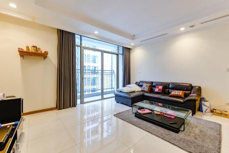 Căn hộ Vinhomes Central Park 3 phòng ngủ tầng cao C1 đầy đủ nội thất