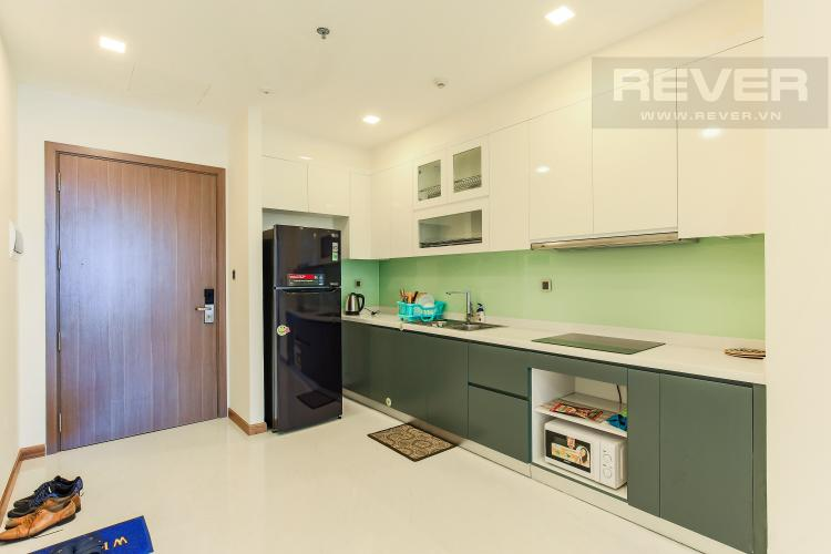 Phòng Bếp Căn hộ Vinhomes Central Park 2 phòng ngủ, tầng cao P6, view sông