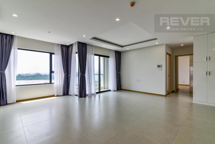 Phòng Khách Cho thuê căn hộ New City Thủ Thiêm tầng trung, tháp Bali, 3PN, đầy đủ nội thất