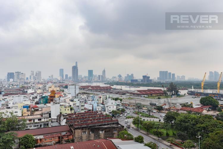 View Ban Công Bán căn hộ Riva Park 2PN, tầng cao, diện tích 80m2, view thành phố