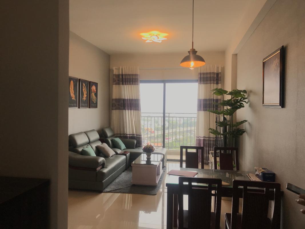 can-ho-THE-SUN-AVENUE Cho thuê căn hộ The Sun Avenue 3PN, block 6, đầy đủ nội thất, view sông và KDC Thạnh Mỹ Lợi